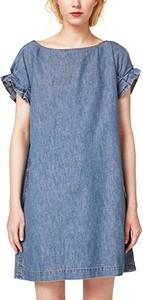 Niebieska sukienka edc by esprit