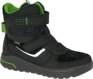 Buty dziecięce zimowe Ecco z zamszu