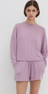 Fioletowa piżama House