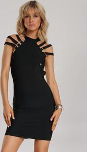 Czarna sukienka Renee bodycon mini