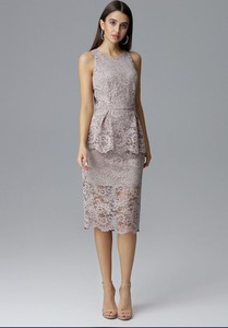 Sukienka sukienki.pl bez rękawów midi