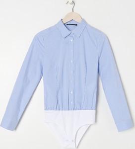 Niebieska koszula Sinsay