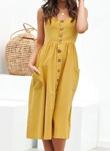 Sukienka Arilook w stylu casual szmizjerka midi