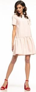 Sukienka Tessita mini z krótkim rękawem