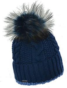 Granatowa czapka Amaltea