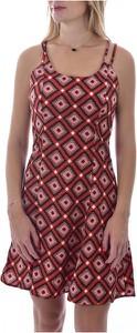 Czerwona sukienka MOLLY BRACKEN na ramiączkach z okrągłym dekoltem