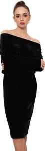 Sukienka CAHA z długim rękawem