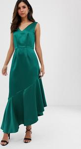 Sukienka Closet maxi z dekoltem w kształcie litery v