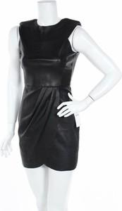 Czarna sukienka ZARA mini bez rękawów