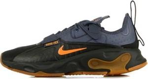 Buty sportowe Nike ze skóry w młodzieżowym stylu