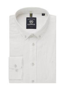 Koszula Lerros z bawełny z długim rękawem