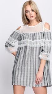 Sukienka Multu mini z długim rękawem