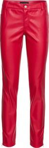 Czerwone spodnie bonprix BODYFLIRT