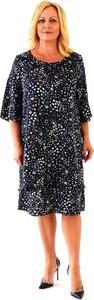 Sukienka Roxana - sukienki midi z tkaniny