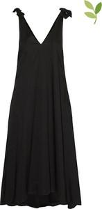 Sukienka Vero Moda na ramiączkach z dekoltem w kształcie litery v z bawełny