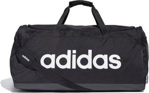 Czarna torba podróżna Adidas