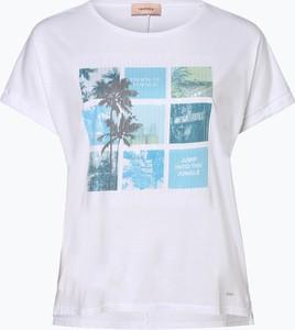 T-shirt Triangle z okrągłym dekoltem w stylu glamour