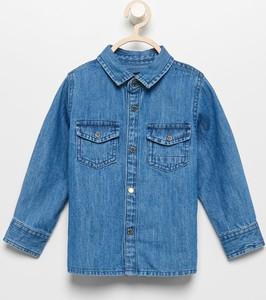Niebieska koszula dziecięca Reserved dla chłopców