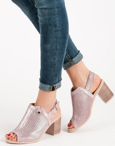 sandały damskie skórzane rozmiar 41 stylowo i modnie z Allani