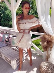 Sukienka Hollywood Dream mini hiszpanka