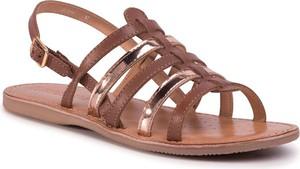 Sandały Geox z płaską podeszwą
