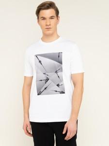 T-shirt Hugo Boss z krótkim rękawem z nadrukiem