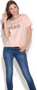 Różowy t-shirt Figl