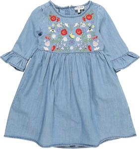 Niebieska sukienka dziewczęca Review For Kids