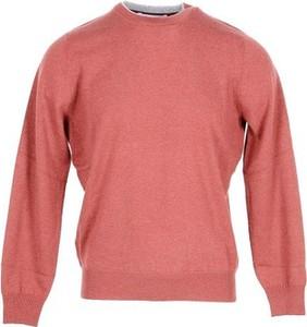 Różowy sweter Brunello Cucinelli w stylu casual