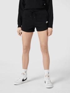 Czarne szorty Nike z dresówki