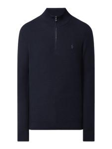 Sweter POLO RALPH LAUREN ze stójką w stylu casual