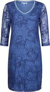 Sukienka Tramontana mini prosta z długim rękawem