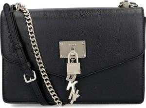 Czarna torebka DKNY na ramię