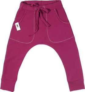 Różowe spodnie dziecięce CudiKiDS