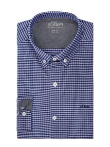 Koszula S.Oliver Red Label z kołnierzykiem button down z długim rękawem