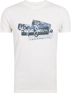 T-shirt Pepe Jeans z bawełny w młodzieżowym stylu