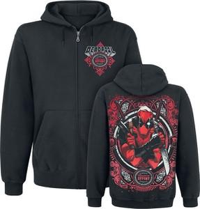 Czarna bluza Deadpool