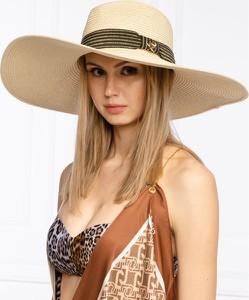 Brązowa czapka Twinset