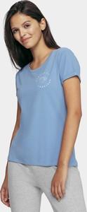 T-shirt 4F w stylu casual z bawełny