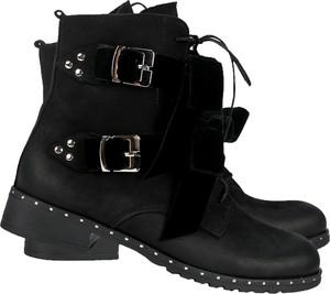 Czarne botki Lafemmeshoes na platformie w stylu casual