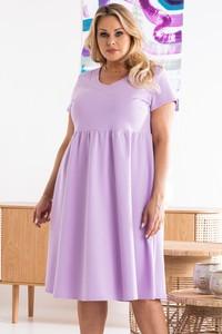 Sukienka KARKO z dresówki mini