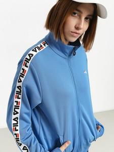 Niebieska kurtka Fila w sportowym stylu krótka