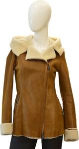 Brązowy płaszcz Bukowski w stylu casual