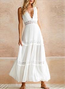 Sukienka Cikelly maxi w stylu boho