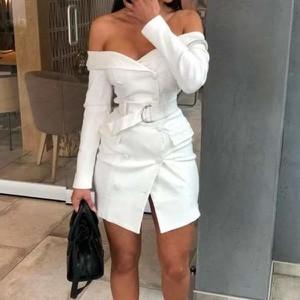 Sukienka Miandmolly mini w stylu casual z długim rękawem