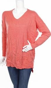 Różowy sweter Dreamers w stylu casual