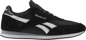 Czarne buty sportowe Reebok Fitness w sportowym stylu