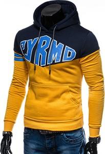 Żółta bluza Edoti w młodzieżowym stylu z bawełny