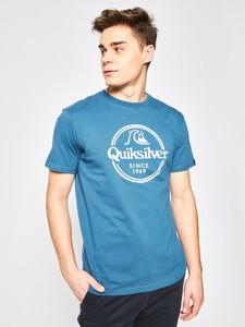 T-shirt Quiksilver z nadrukiem z krótkim rękawem
