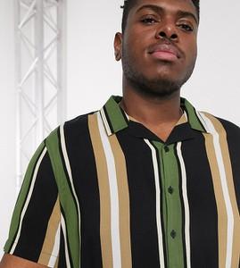 Czarna koszula New Look z klasycznym kołnierzykiem z krótkim rękawem